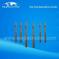 China Acrylic Cutting Single Flute Spiral Cut Router Bit for Sale on sale
