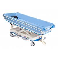 Central-control Brake System Hydraulic Shower Trolley For Hospital Manufactures