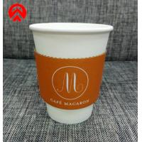 China Hot Drink Paper Coffee Cup Sleeves Beverage Coffee Boba Tea Cmyk Full Color on sale