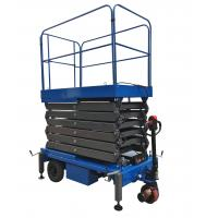 Platform Height 11m Mobile Scissor Lift With Electrical Driving System Loading Capacity 450kg Manufactures