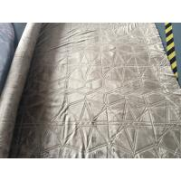 China 3D Burnout Home Decor Brushed Flannel For Bedding / Mat Single Colour Dyed wholesale