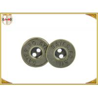 Brass Plating Magnetic Bag Snap Fasteners , Hidden Magnetic Purse Closures Manufactures