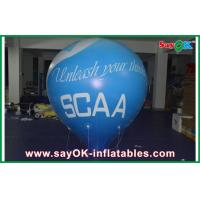 0.18mm PVC Inflatable Balloon Helium Customized For Outdoor Event Manufactures