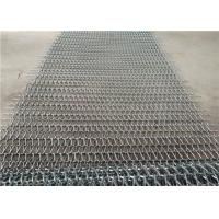 Heat Resistance Stainless Steel Wire Mesh Conveyor Belt With Chain Manufactures