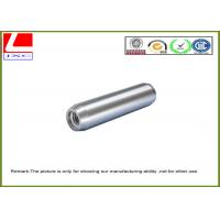 Quality High Speed Machining Aluminium CNC turning sleeve with brushing for sale