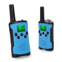 China ABS 462MHz 0.5W 3AA Batteries Walkie Talkie Toy For Camping on sale
