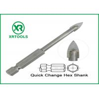 China Quick Change Metric Masonry Drill Bits For Glass / Ceramic / Porcelain on sale