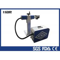 0 - 100 KHz Fiber Laser Marking Machine For Animal Ear Tags / Auto Parts
