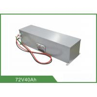 Pollution Free Rechargeable LiFePO4 Battery 72V 40Ah High Energy Density For UPS Manufactures
