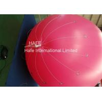 China Inflatable Giant Floating Led Lighting Balloons , Pvc Light Up Balloons Promotional for sale