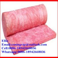 Pink Glass wool roll with best price Manufactures