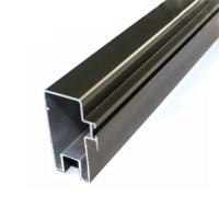 High Precise Reliable Aluminum Curtain Wall Profile In Different Surface Treatment Manufactures