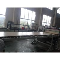 25mm Thickness PVC Foam Board Making Machine Conical Double Screw Extruder Manufactures