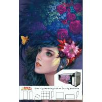 China Flags / Banner Digital Printer 3.2m Printing Width With Three Epson 4720 Heads on sale
