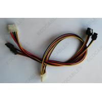 Low Profile Latching SATA Power Cable , Locking SATA Extension Cable For Data Transfer Manufactures