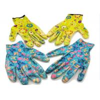 Pretty Ladies Gauntlet Gardening Gloves Corrosion Resistance Knitted Wrist Manufactures