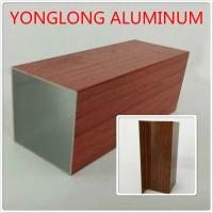High Transparency Aluminium Furniture Profiles For Wardrobe , 1.2 / 1.4 Thinckness Manufactures