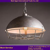 China American Style Loft Retro Ball Shade Iron Pot Cover Industrial Chandelier on sale