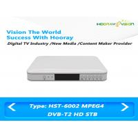 China Terrestrial DVB T2 Set Top Box H 264 Full HD STB Satellite Receiver With Smart Card USB 2.0 on sale