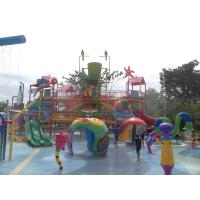 Commercial Water Park Skip Bucket Water Fun Park For 200 People Manufactures