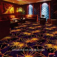 2019 newest gold fireworks pattern Commercial microfiber carpet Manufactures