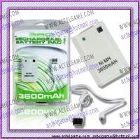 Xbox360 Rechargeable Battery Pack 3600mAh game accesory Manufactures