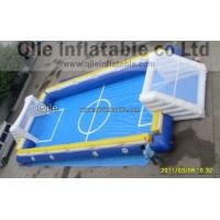 Waterproof Inflatable Sports Arena , Red Inflatable Soccer Field Manufactures