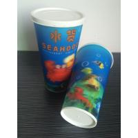 Quality 3D lenticular drinking plastic promotional cheap straw cup for sale
