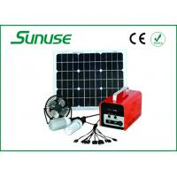 Portable Whole house off grid 30W Solar Power System for flat roof Manufactures