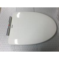 Professional Plastic Toilet Bowl Seat Cover White Color With Mute Rubber Gasket Manufactures