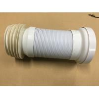 Adjustable Length Toilet Drain Pipe / Organ Tube With Double Layer Structure Tube Wall Manufactures