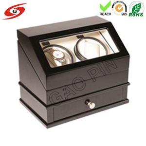 China Automatic Rotation Glossy Wooden Watch Winder, Watch Box on sale
