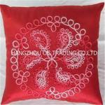 Handmade ribbon cushion cover Manufactures