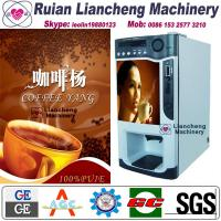 instant coffee making machine raw material 3 in 1 microcomputer Automatic Drip coin operated instant Manufactures