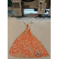 China Tapping / Coiling mixed computerized embroidery machine for clothing shirt on sale