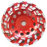 China S Type Segmented Diamond Grinding Cup Wheel Concrete Cup Diamond Wheel on sale