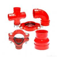Ul/ Fmductile Iron Grooved Pipe Fitting Manufactures