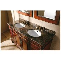 Ogee Edge Granite Bathroom Countertops , Baltic Brown Granite Countertops Manufactures