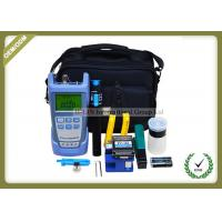 Full Set FTTH Tool Kit With Fiber Optic Cleaver FC - 6S / Optical Power Meter Manufactures