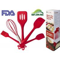 Professional Practical Silicone Cooking Utensils Safety For  Diswash , Microwave Manufactures
