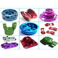 High Precision Aluminum Machined Parts For Hardware Machinery Various Color Manufactures