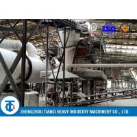 Anti - Corrosion Organic Fertilizer Production Line 5 - 6 T/H Capacity Carbon Steel Made Manufactures