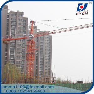 Small Construction Hammerhead Tower Crane QTZ4208 External Climbing Type Manufactures