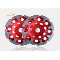 Hand Angle Grinder Diamond Cup Wheel With Coarse Grained Sharp Cutting Teeth Manufactures