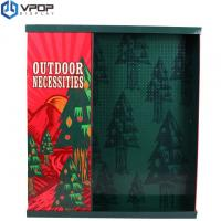 Stable Cardboard Pallet Display , Pallet Retail Display With Christmas Pattern Manufactures