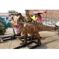 China Soft Silicone Rubber Animatronic Dinosaur Ride On Site Installation Available on sale