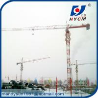 QTP4810 Topless Tower Crane Wire Rope 1.0ton Tip Load 48m Jib Crane Manufactures