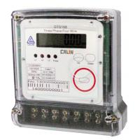 Compact 3 Phase Electric Meter Transparent Cover Prepaid Electricity Meters Manufactures