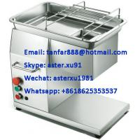 China TF-500 Tabletop Fresh Meat Cutting Machine on sale