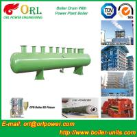 Diesel Water Heat Boiler Steam Drum Thermal Insulation SGS Certification Manufactures